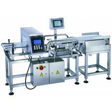 Металлодетектор конвейерного типа с модулем проверки веса