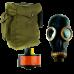 Промышленный противогаз Бриз-3301 (ППФ-95) с шлем-маской ШМП