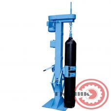 Установка для очистки внутренней поверхности баллонов УОВПБ-2 (очистка цепями)