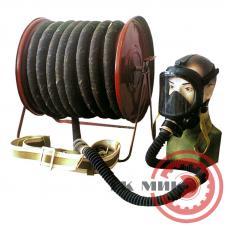 Противогаз шланговый ПШ-2-20 - армированный шланг, ЭРВ-воздуходувка, маска ШМП