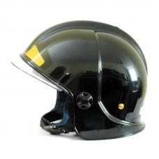 Шлем пожарного ШПМ (черный)