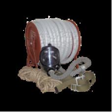 Шланговый противогаз ПШ-1Б Комплект - шланг ПВХ -10 м, маска ШМП - 1шт.
