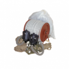 Шланговый противогаз ПШ-20РВ-2 (2 линии) шланг ПВХ, маска ШМ-2шт.