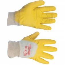 Перчатки нитриловые (желтые)