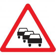 Дорожный знак 1.32 Затор (A=900) Тип А