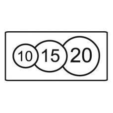 Дорожный знак 8.8 Платные услуги (350 x 700) Тип В