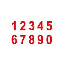 Знак T306 Цифры (1,2,3,4,5,6,7,8,9,0) (Пленка 100 х 200)